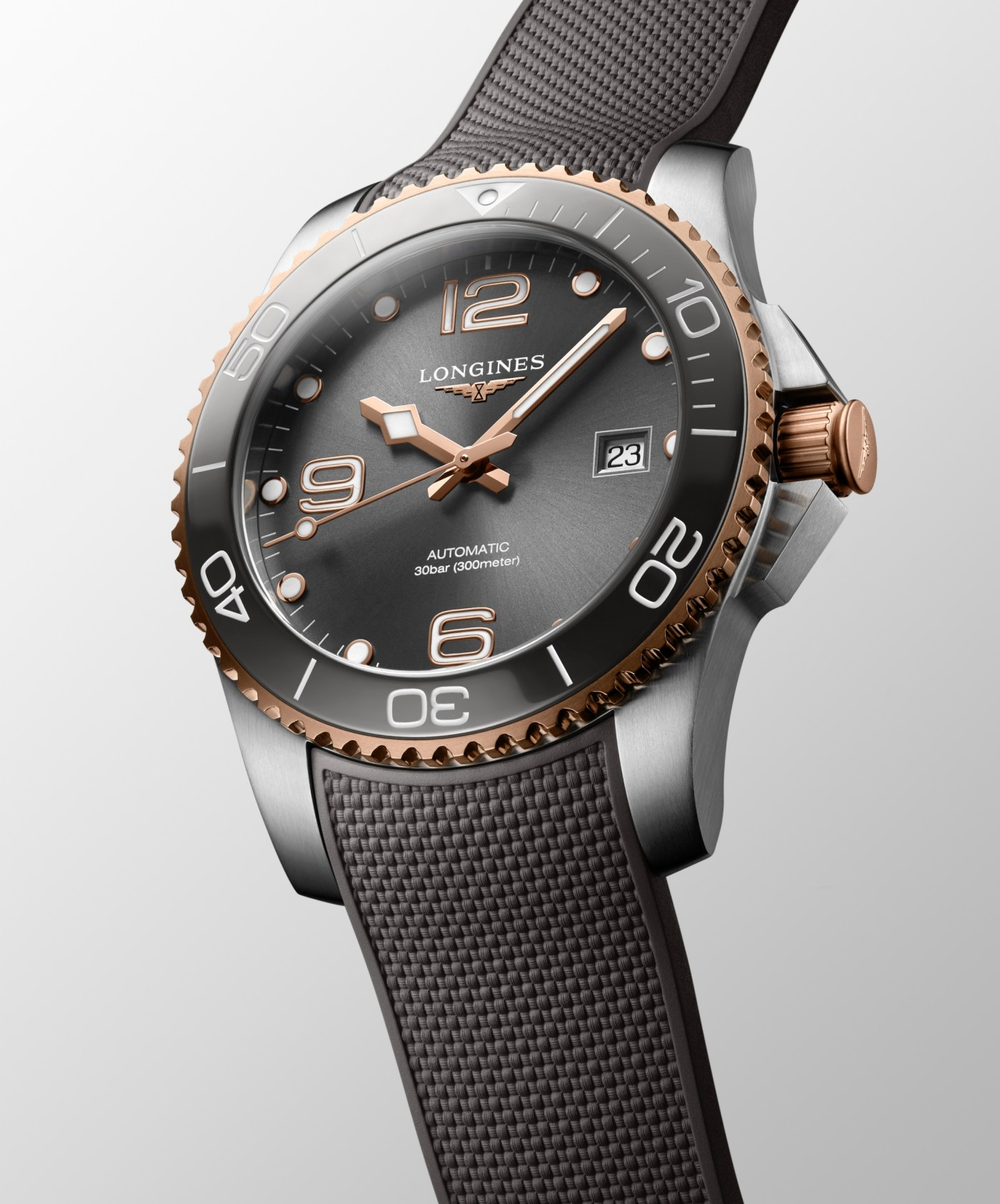 2021 HydroConquest Two-Tone Dive Watches