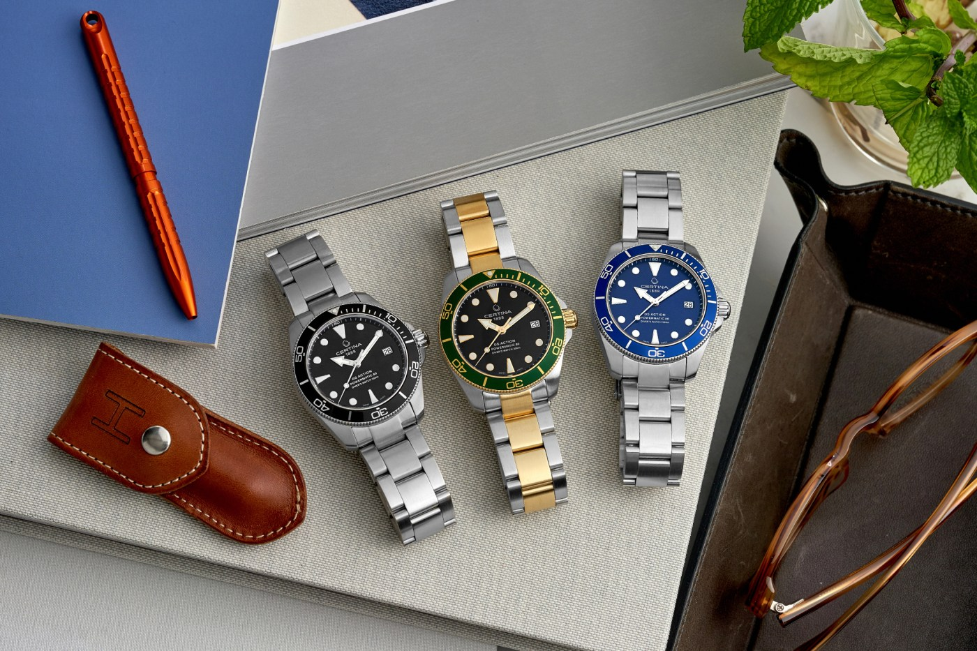 Certina DS Action dive watches