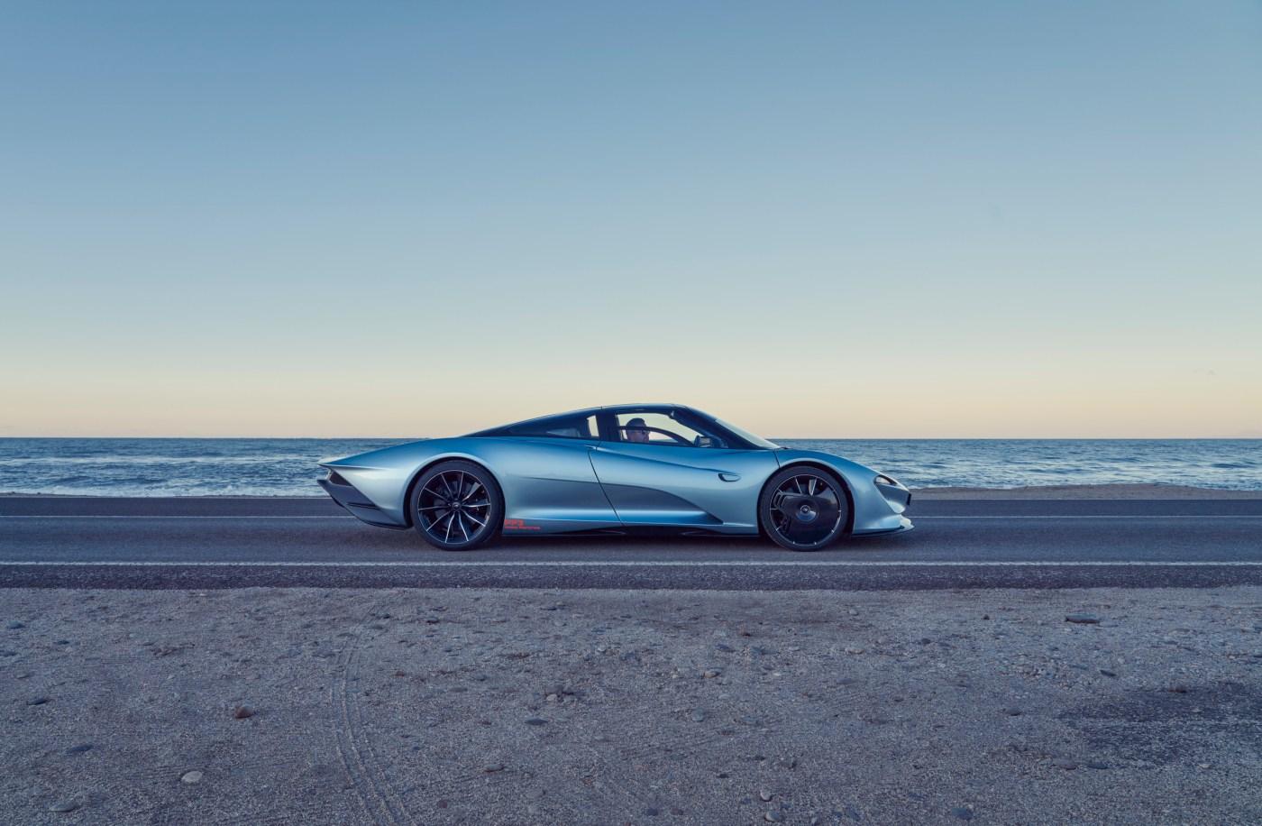 Mclaren Speedtail profile Photo by ©johnwycherley