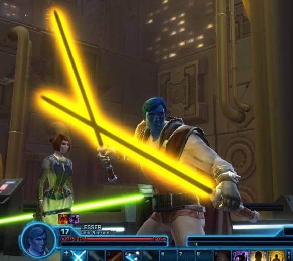 SWTOR Chiss Jedi Sentinel