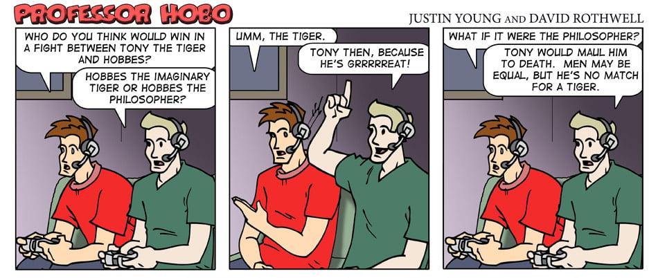 Tony the Tiger vs Hobbes