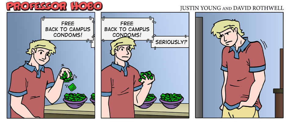Back to Campus Condoms