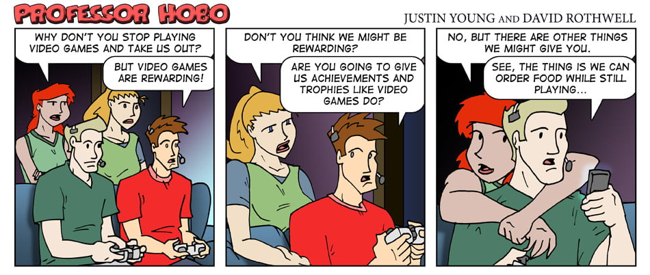 Video Games vs. Dating