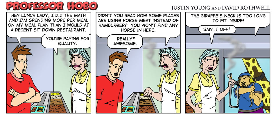 Lead A Horse to Dinner
