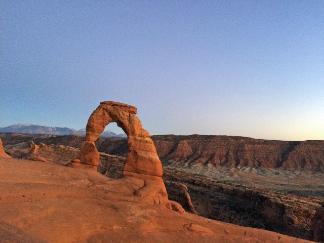 Delicate Arch (after the sunset magic)