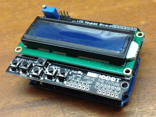 LCD y Keypad Shield para Arduino
