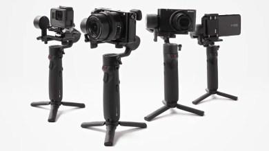 صورة مانع اهتزاز جديد من Zhiyun للكاميرات الخفيفة بسعر مناسب CRANE-M2