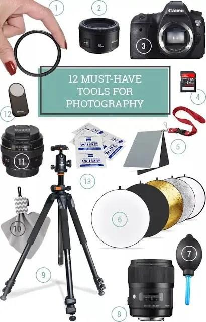 12 أداة يحتاجها مصور الفوتوغراف المحترف | بروفيلم