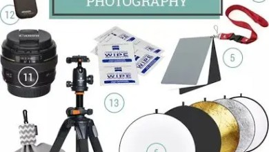 صورة 12 أداة يحتاجها مصور الفوتوغراف المحترف