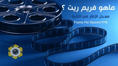 صورة دليل المبتدئين لمعدل الاطار في الثانية / فريم ريت في تصوير الفيديو والافلام