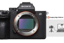 صورة تحويل كاميرات سوني إلى كاميرا ويب عبر يو اس بي عبر برنامج Sony Imaging Edge الجديد