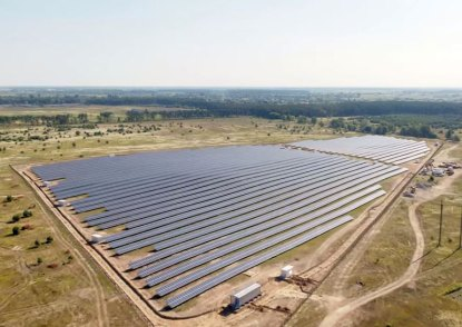 Дымерская солнечная електростануция