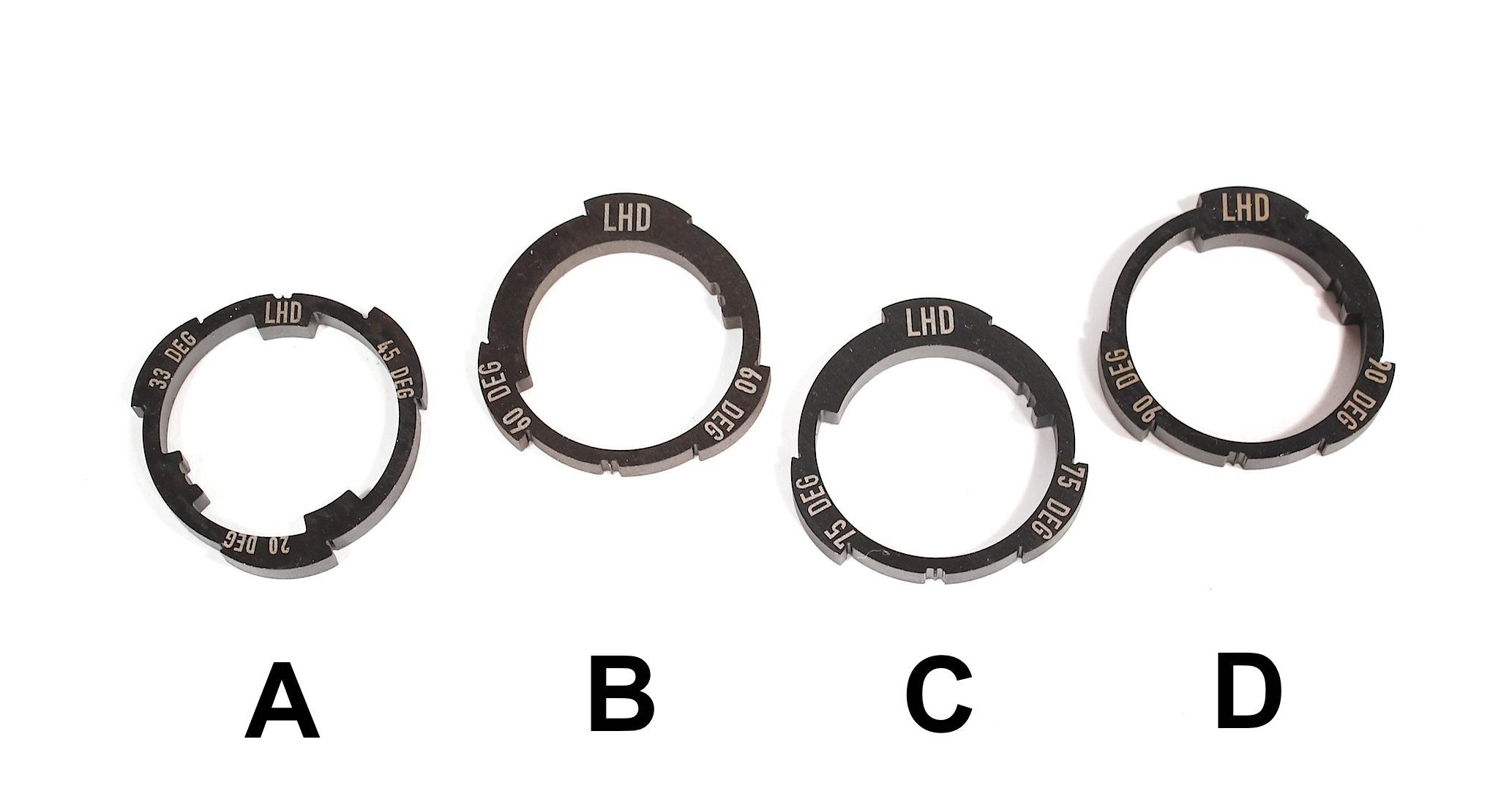 Z Coaster Slack Cam Rings Profile Racing