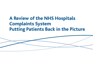 a-review-of-nhs-hospitals report cover