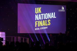 WorldSkills UK Finals Award Ceremony Signboard
