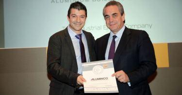 "ALUMINCO: H 1η συμμετοχή της στο θεσμό ""GREEK EXPORTS AWARDS"" της χάρισε δύο βραβεία"