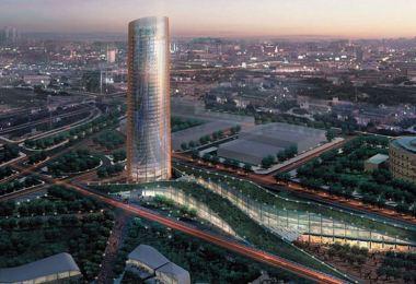 "Akzo Nobel: ""Torre Cartuja"" τo πιο εμβληματικό κτίριο στην Σεβίλλη με πούδρες Interpon D2525"