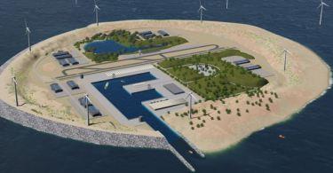 Τεράστιο τεχνητό νησί στη Βόρεια Θάλασσα
