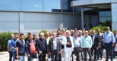 Exalco επίσκεψη κατασκευαστές αλουμινίου