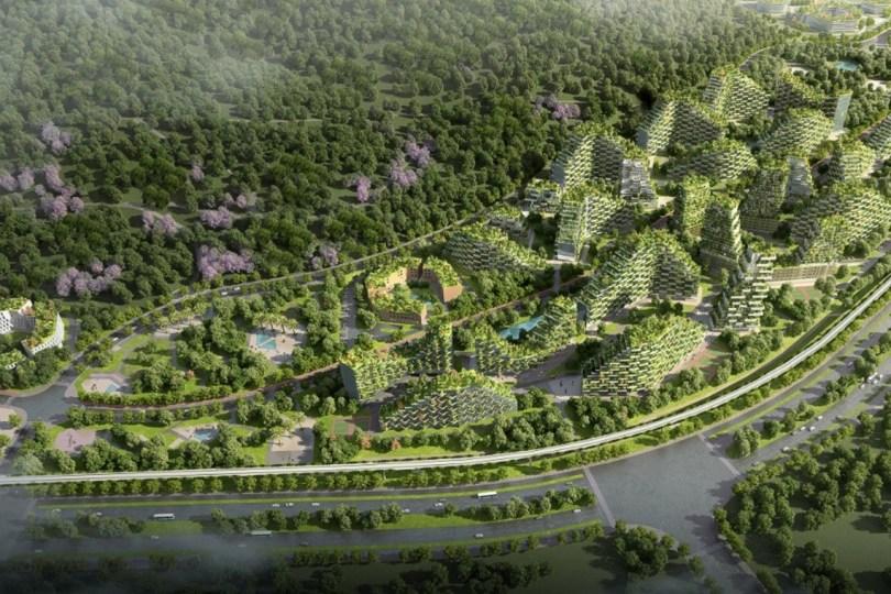 Πράσινη πόλη στην Κίνα