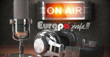 Europa-Profil-Αλουμίνιο-ραδιοφωνική-καμπάνια