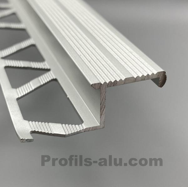 Nez De Marche Decoratif En Aluminium 10 Mm Www Profils Alu Com