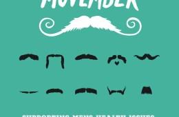 Movember z vás udělá knírače! Pěstujte si knír a pomozte mužskému zdraví!