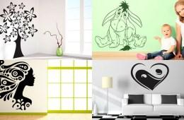 Nalepte si na zeď design! Samolepky na zeď promění obyčejnou zeď na stylovou. Bydlení dostane šmrnc a každá místnost doslova obživne.