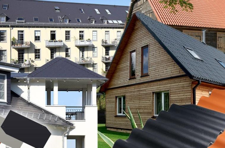 Vláknocementová krytina v podobě maloplošných šablon je ideální lehká střešní krytina pro moderní i historické stavby.