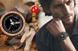 Jestliže hledáte skutečně top módní dárek, kterým byste rádi někoho obdarovali o letošních Vánocích, je tady velký hit Vánoc – dřevěné hodinky.