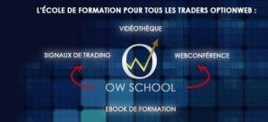 Ecole formation optionweb