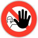 panneau de mise en garde