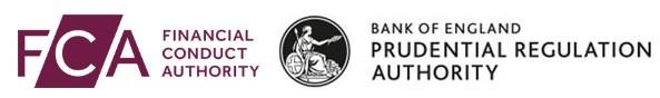 Logo de la FCA et la bank of england