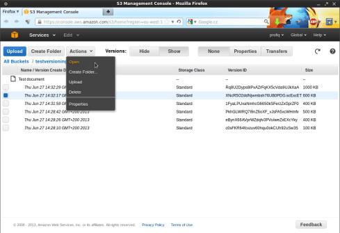 Snímek obrazovky-S3 Management Console - Mozilla Firefox-4