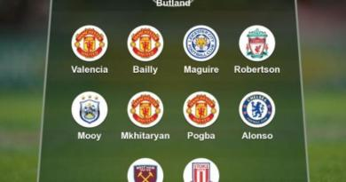 Garth Crooks' team of the week: Butland, Pogba, Alonso, Valencia, Jese