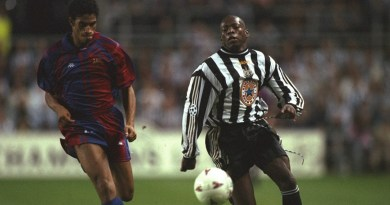 Whatever happened to Faustino Asprilla? The first man to score a Champions League hat-trick against Barcelona