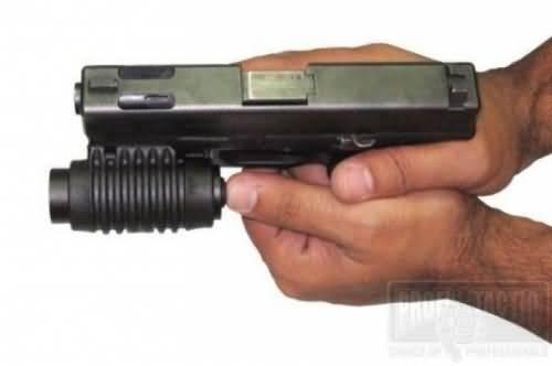 """Pištoľový držiak na baterku 1"""" na picatinny"""