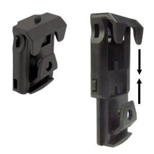 Univerzálne rotačné plastové puzdro LHU-04-34/37/43/47mm