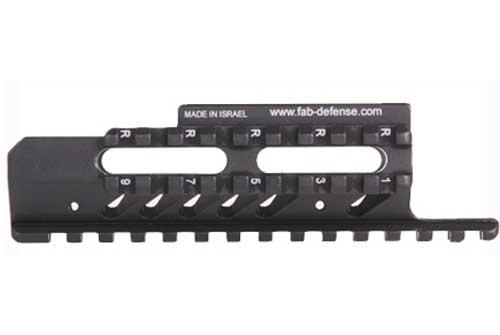 Aluminum Tri-Rail System For Full Size Uzi