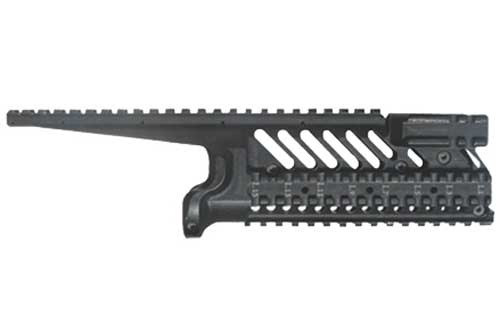 Hard anodized aluminum 6 rail hand guards for Galil (Long and Short Version)