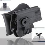 Pištoľové púzdro Cytac pre XD 9/40 s pádlom + opasková redukcia + molle redukcia 2