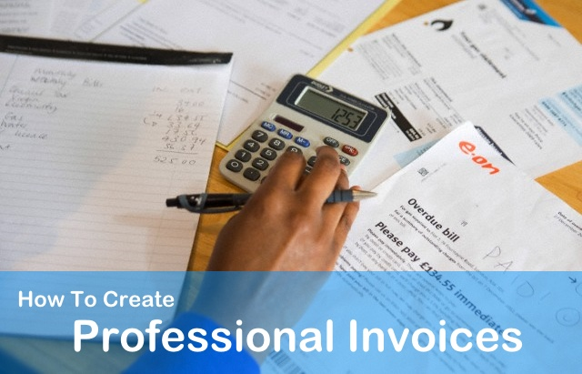 How To Fill Out A Invoice Pdf How To Create Professional Invoices  Get Paid Faster Best Free Invoicing Software Excel with Blank Receipt Form Free Pdf Create Professional Invoices How Do You Find The Invoice Price Of A Car Word