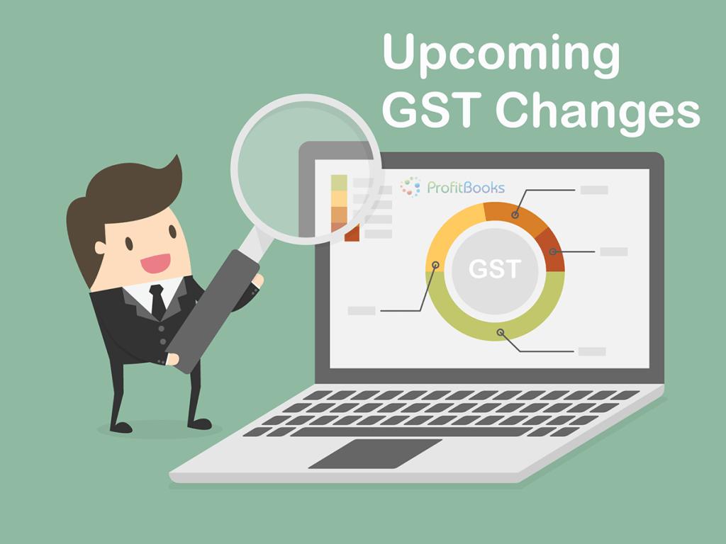 GST Changes In ProfitBooks