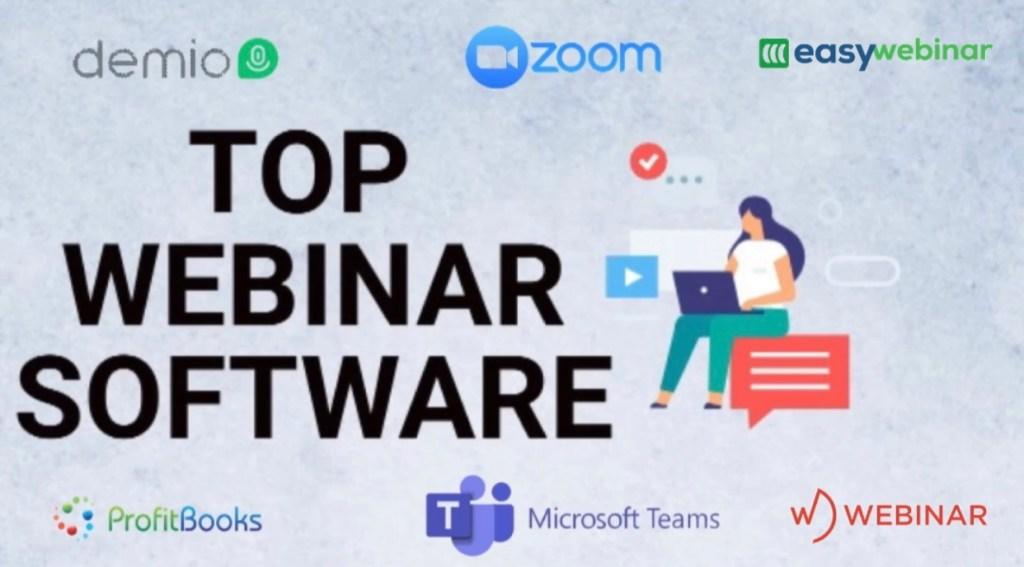 List of best webinar software