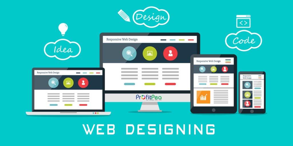 Web designing idea
