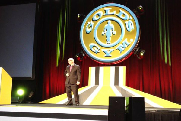 Franchise Speaker - Ford Saeks Gold's Gym Keynote