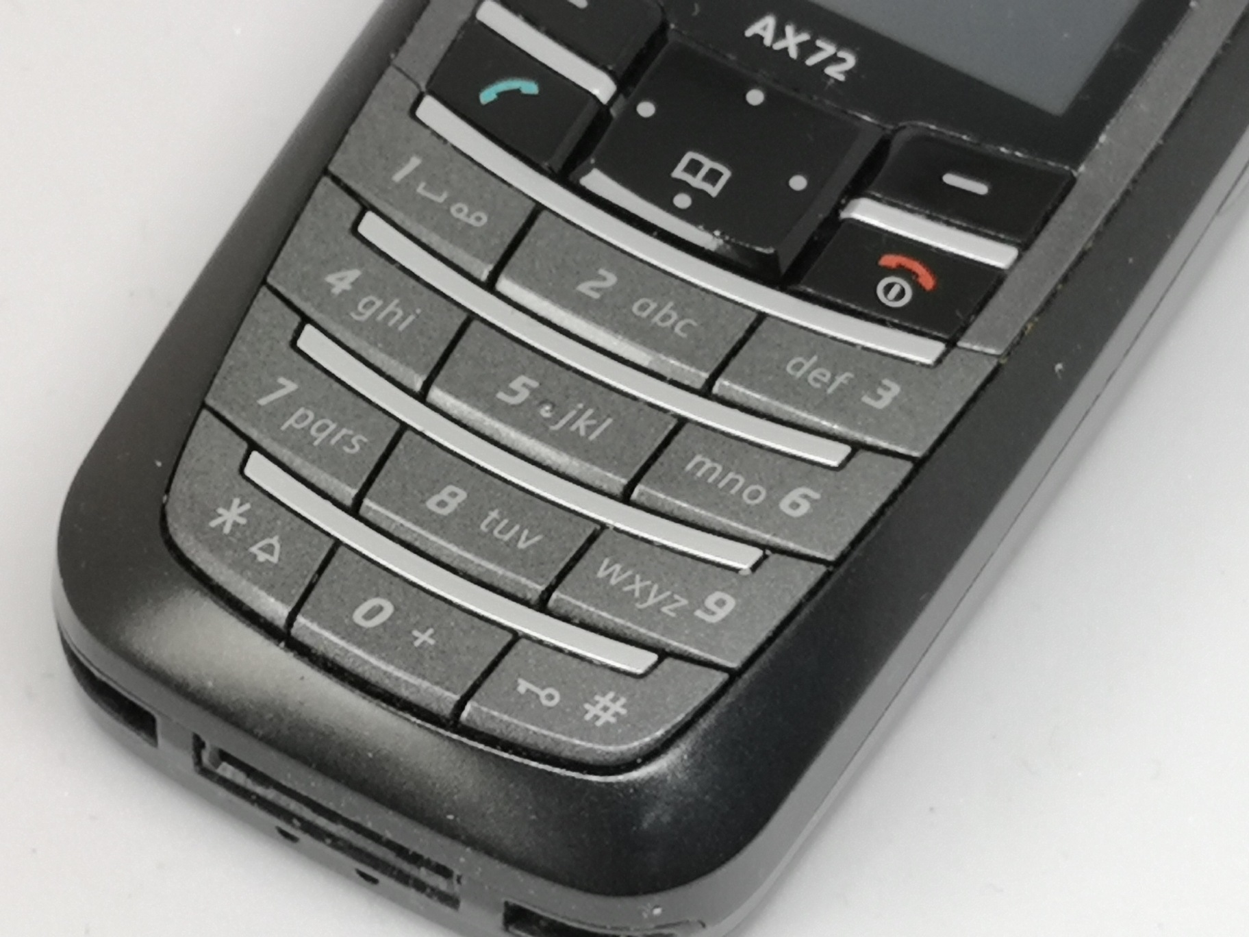Siemens AX72 Review - Basic Candybar Mobile Phone