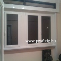 kétszárnyú ablak, bukó-nyíló ablak