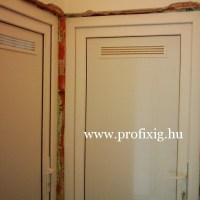 műanyag beltéri ajtó fürdőszoba