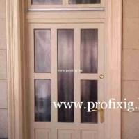 Vanília színű belvárosi ajtó